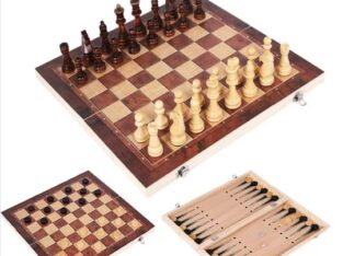 3 in1 Chessboard, Checkers and backgammon