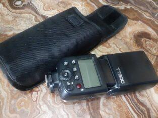 camera speed light