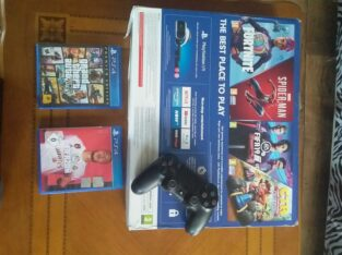 PlayStation 4 slim  አዲስ ነው ። ከ 1 ጆይስቲክ ጋር orginal ነው  ከ ሀለት ጌሞች ጋር 15,000 ብር
